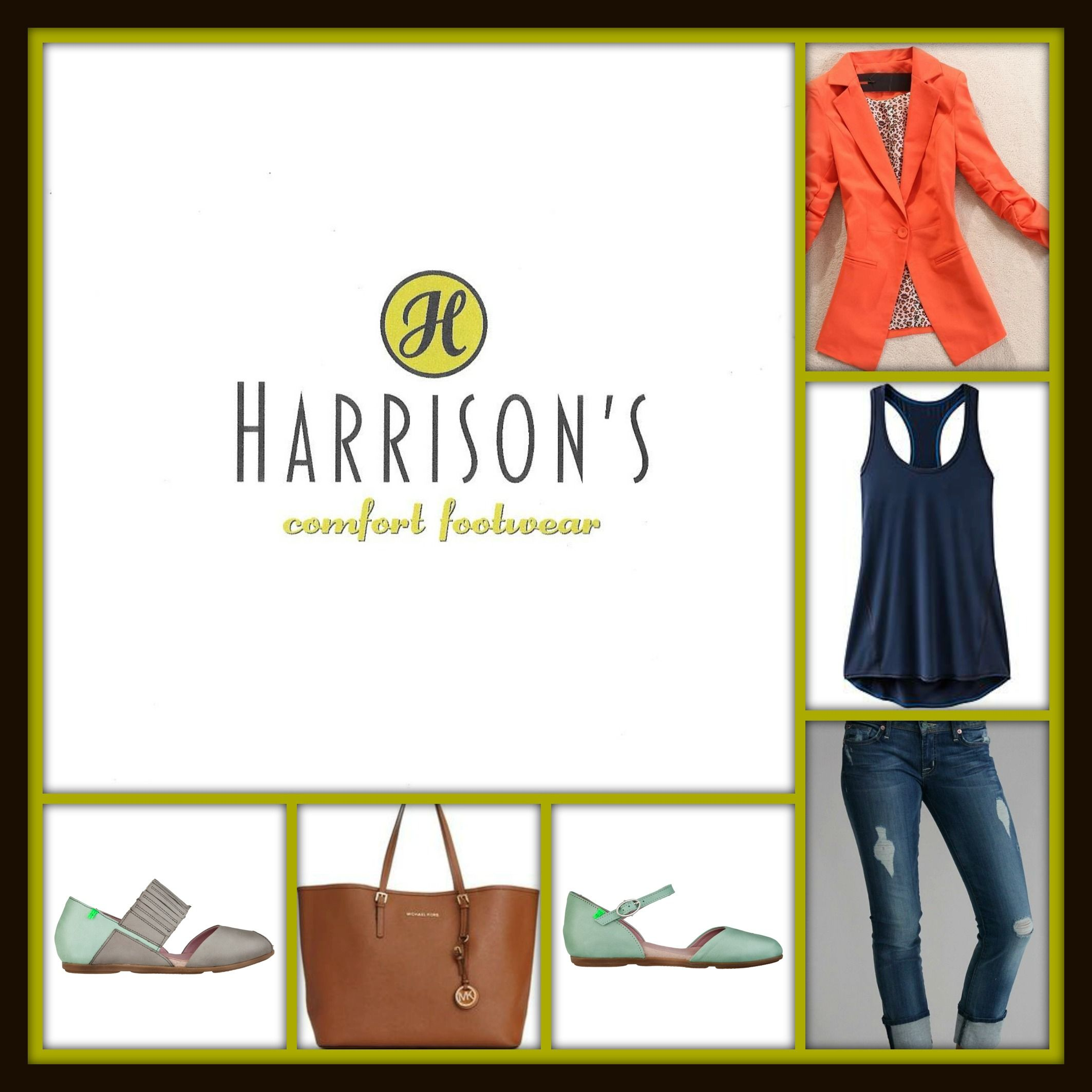 Oranges, mints...yes for summer!  Blazer over anything...and a pop of color in the shoe!  Love el naturalista!