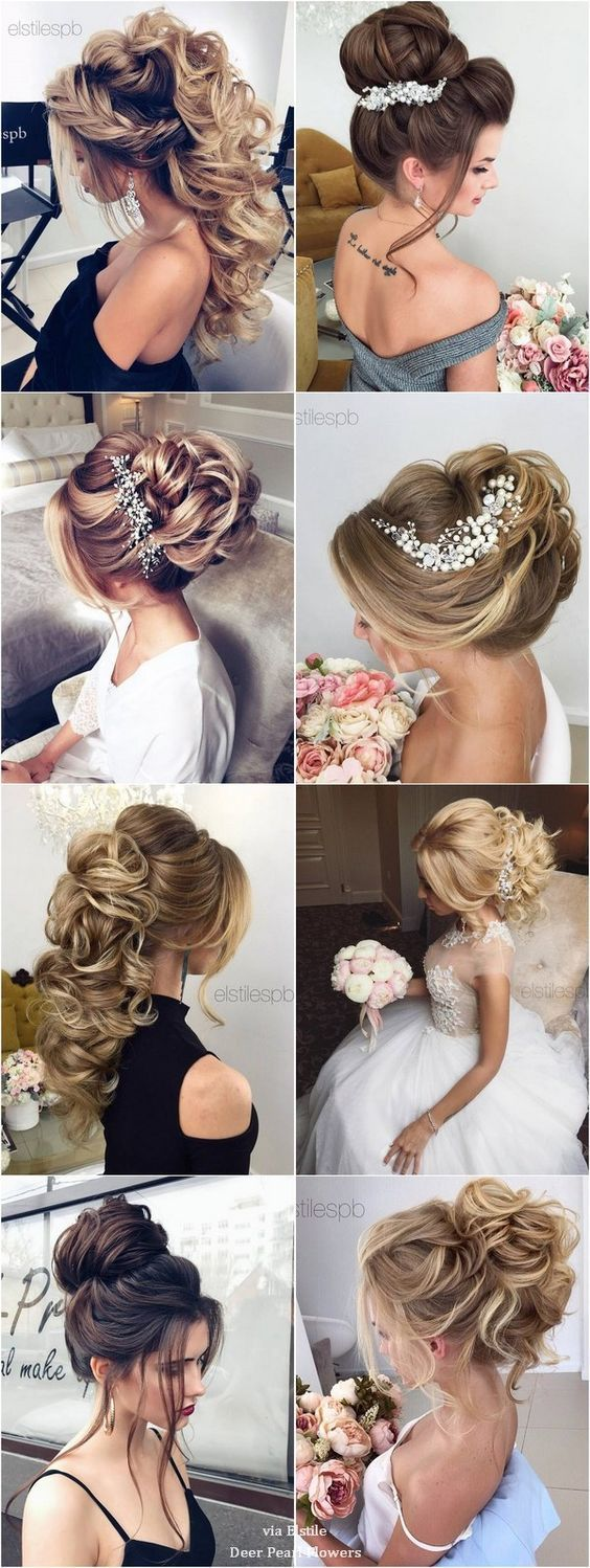 10 Creative And Unique Wedding Hairstyle For Medium Hair Romantic