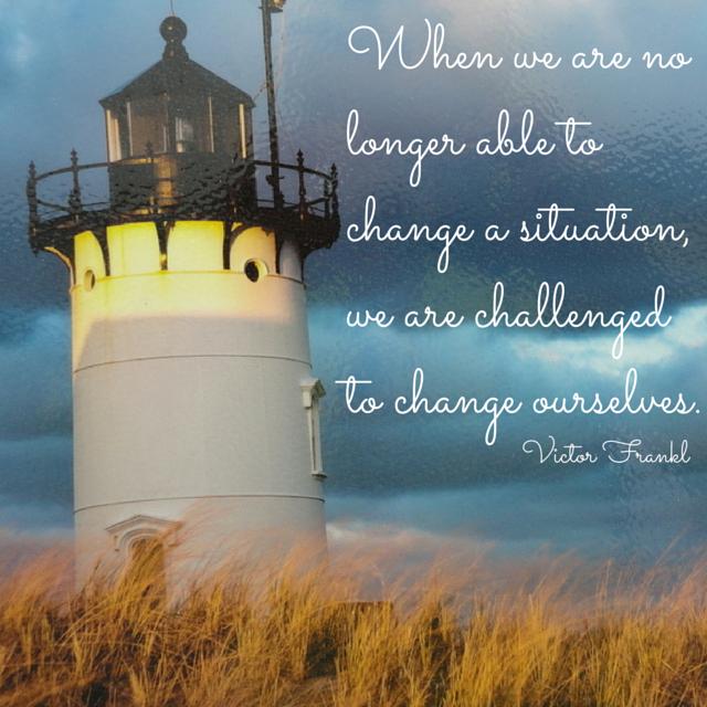 Inspirational Quote on Change www.lisajoberbichler.com