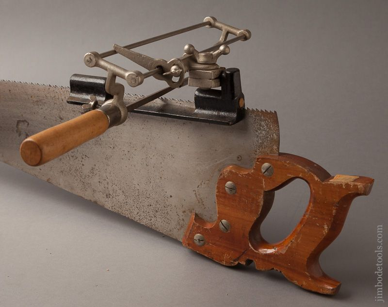 MONTGOMERY WARD & CO. No. 84-356 Overhanging Saw Filing Tool in ...
