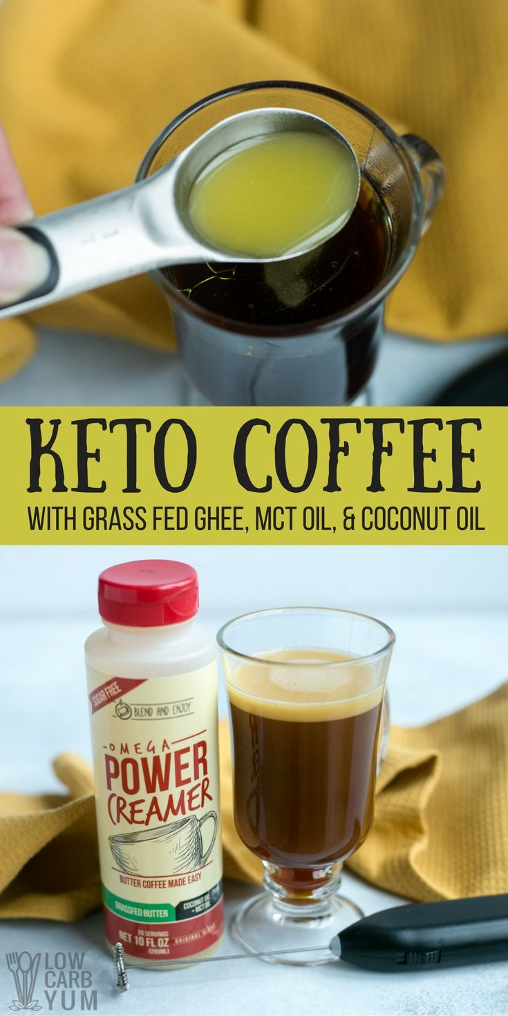 Learn How To Make Keto Coffee The Easy Way With Power Omega Creamer You Simply Blend In The Pre Mad Coconut Oil Coffee Recipe Grass Fed Ghee Ketogenic Coffee