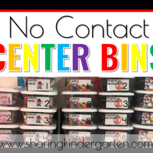 How to Make and Manage No Contact Centers - Sharing Kindergarten