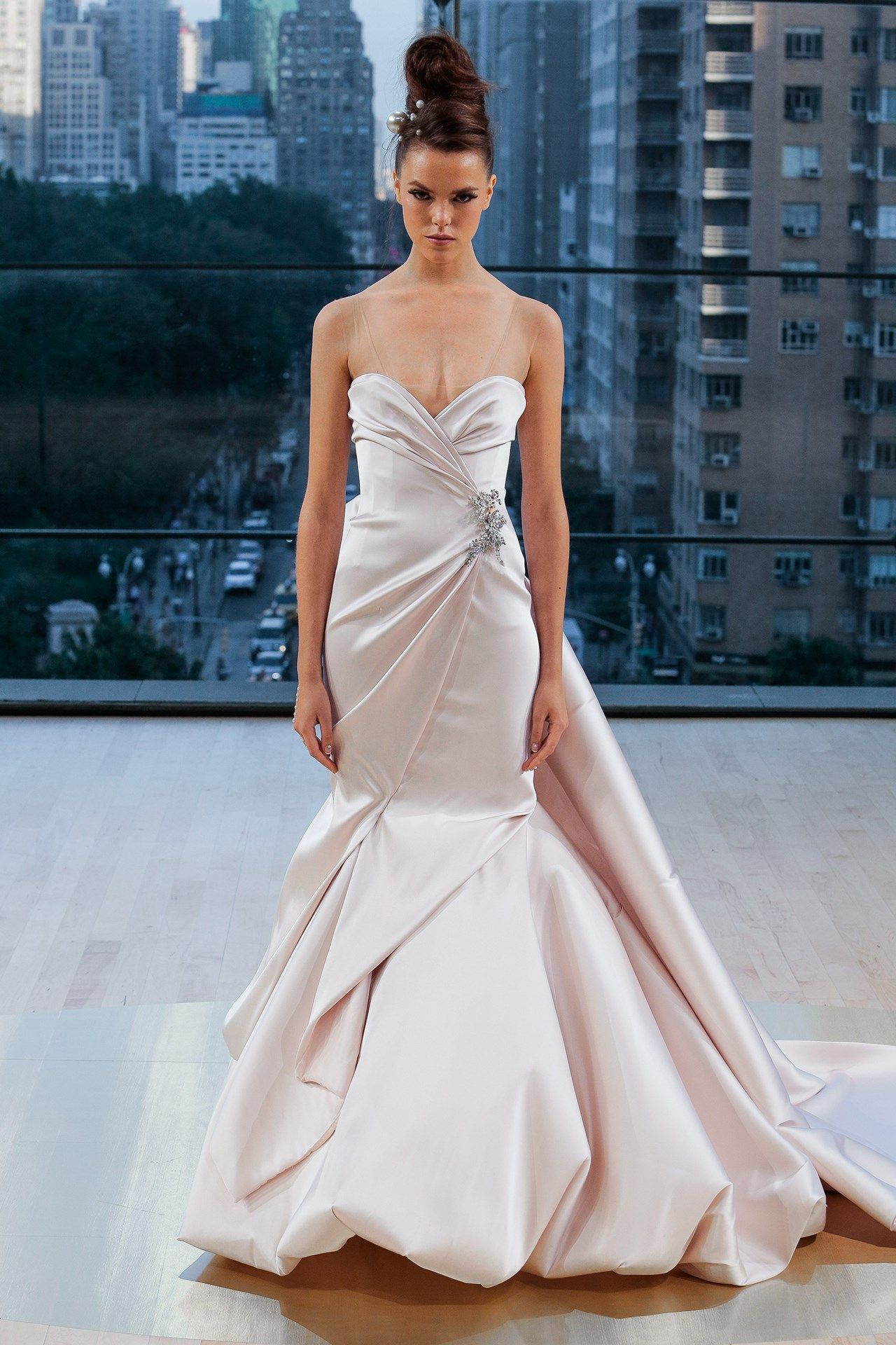 7ec7e14fe4e5 Blush Pink Wedding Dress Designer - Aztec Stone and Reclamations