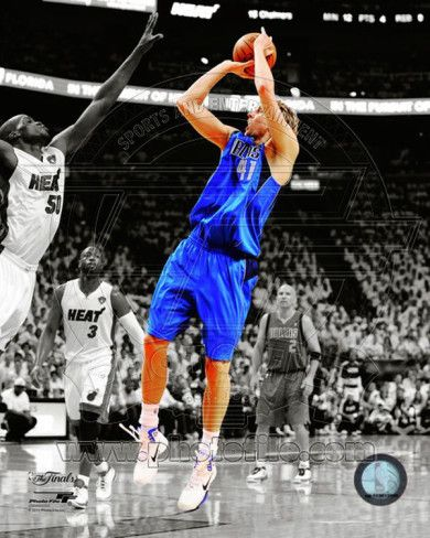 Nba Dirk Nowitzki Game 1 Of The 2011 Nba Finals Spotlight Action Photo Allposters Com 2011 Nba Finals Dirk Nowitzki Dallas Mavericks