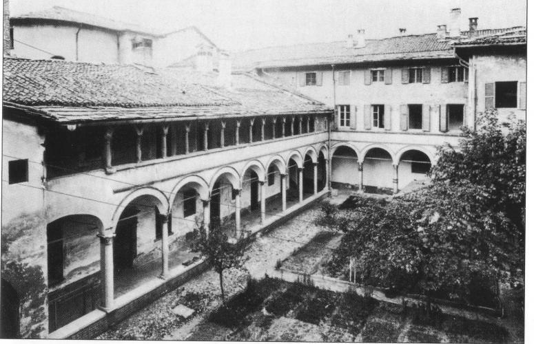 Ancient S.Anna Hospital, Como 1900