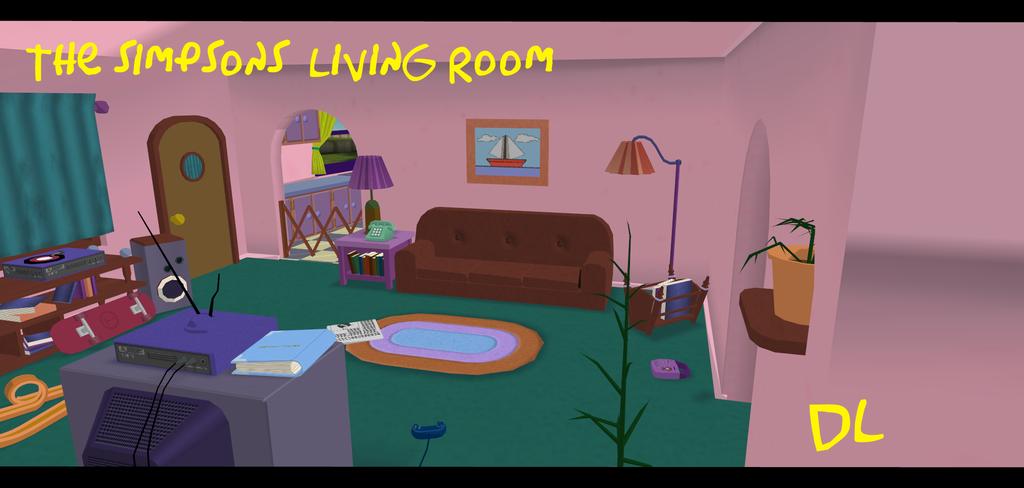 Pin By Jonathan Flynn On Simpsons Living Room Pinterest Room