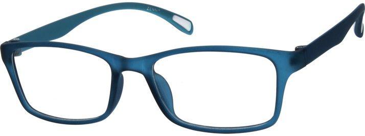 Blue Stylish Plastic Full Rim Frame 287116 Zenni Optical