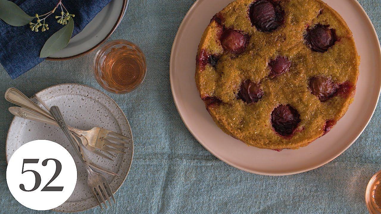 Marian Burros' Plum Torte Famous recipe, Food 52