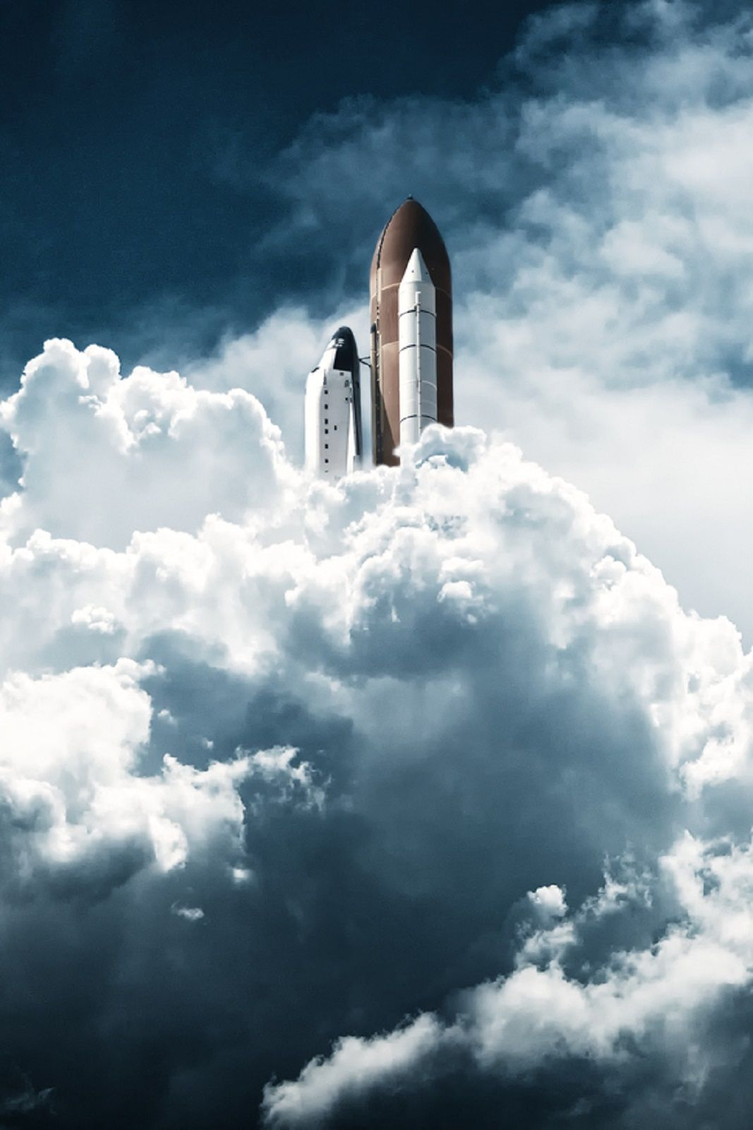 space shuttle landing from space to earth - photo #47