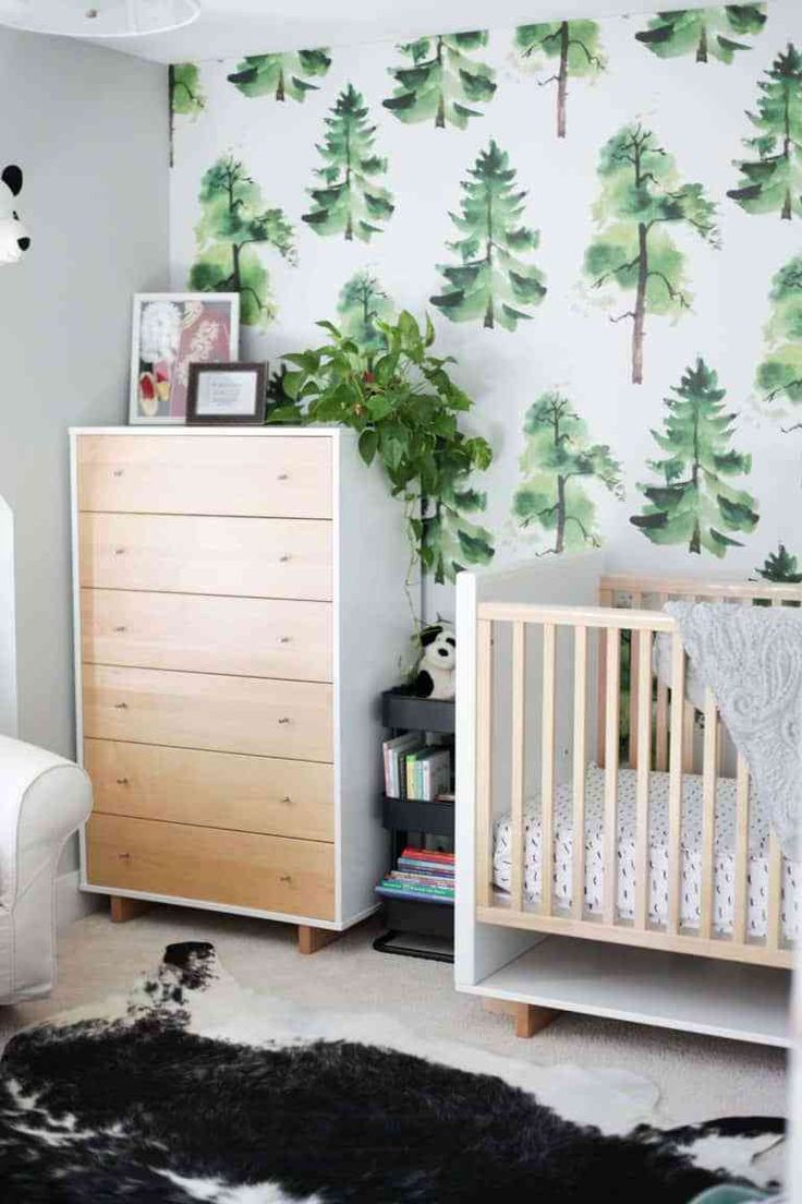 Nursery Inspiration Wallpaper Edition Baby boy nursery