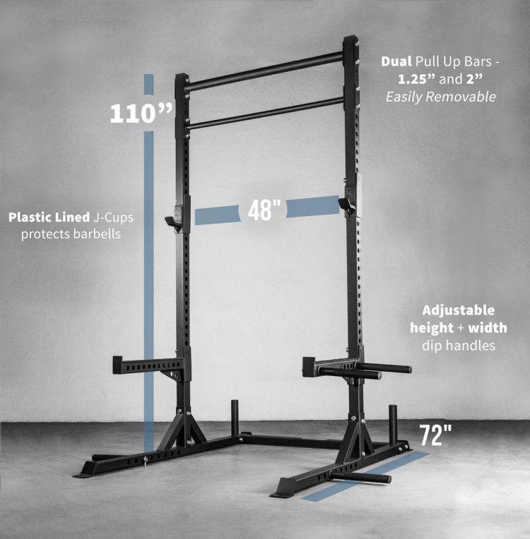 Squat Racks For Your Home Gym Or Garage Gym Squat Rack Gym Rack