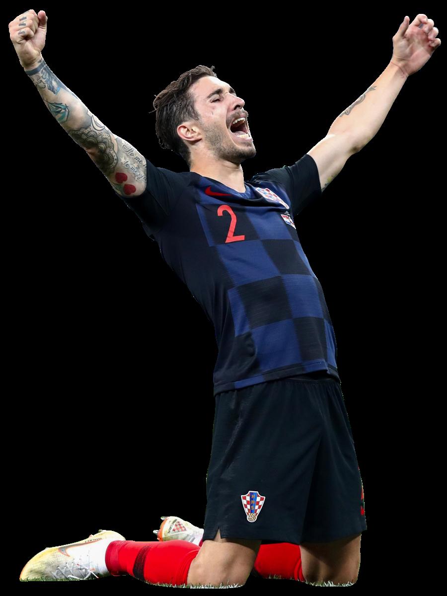 Sime Vrsaljko render (Croatia). View and download football