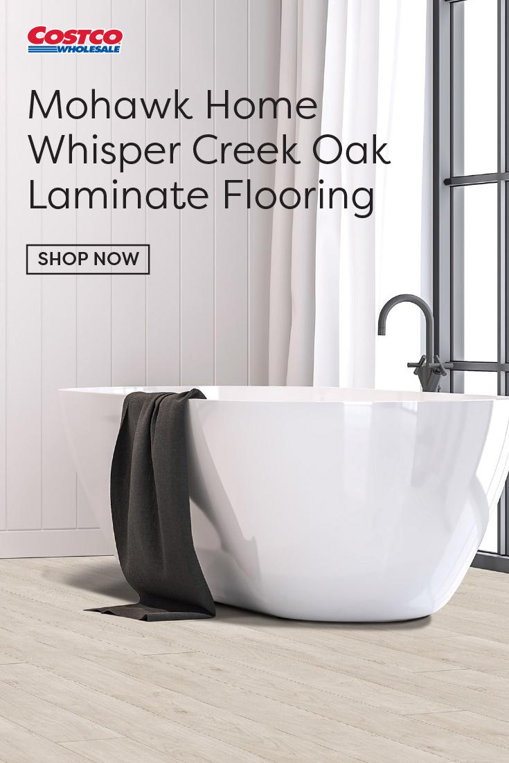 Mohawk Home Whisper Creek Oak Laminate Flooring 10 mm