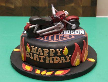 Harley Davidson cake Everything that is Harley Pinterest