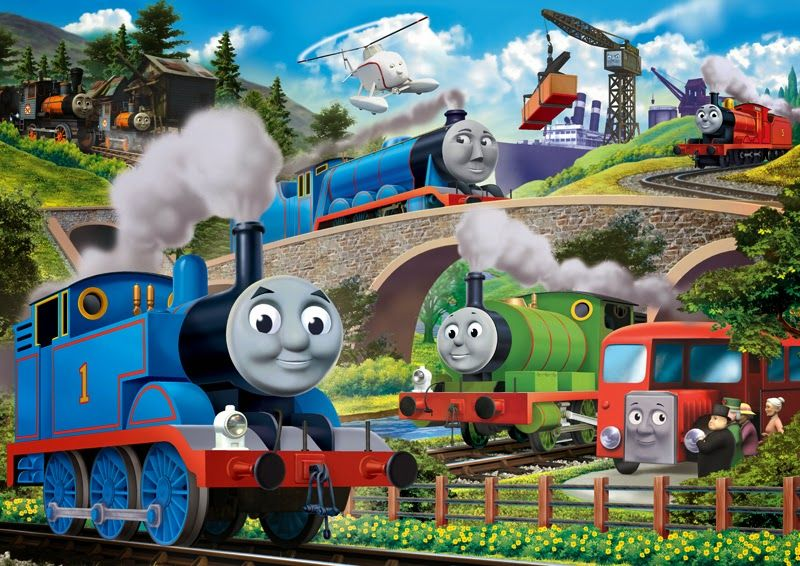 Thomas The Tank Engine Wallpaper Di 2019