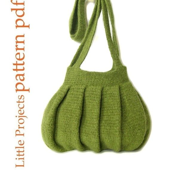 EASY Pleats Purse I - Crochet Version - Pattern PDF | DIY crochet ...