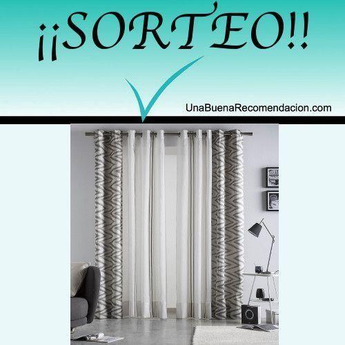 Sorteamos un Visillo/Cortina  http://www.unabuenarecomendacion.com/index.php/sorteos/5200-sorteamos-un-precioso-visillo-cortina
