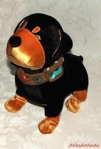 Disney Store Pixar UP Movie Talking Beta Black Rottweiler