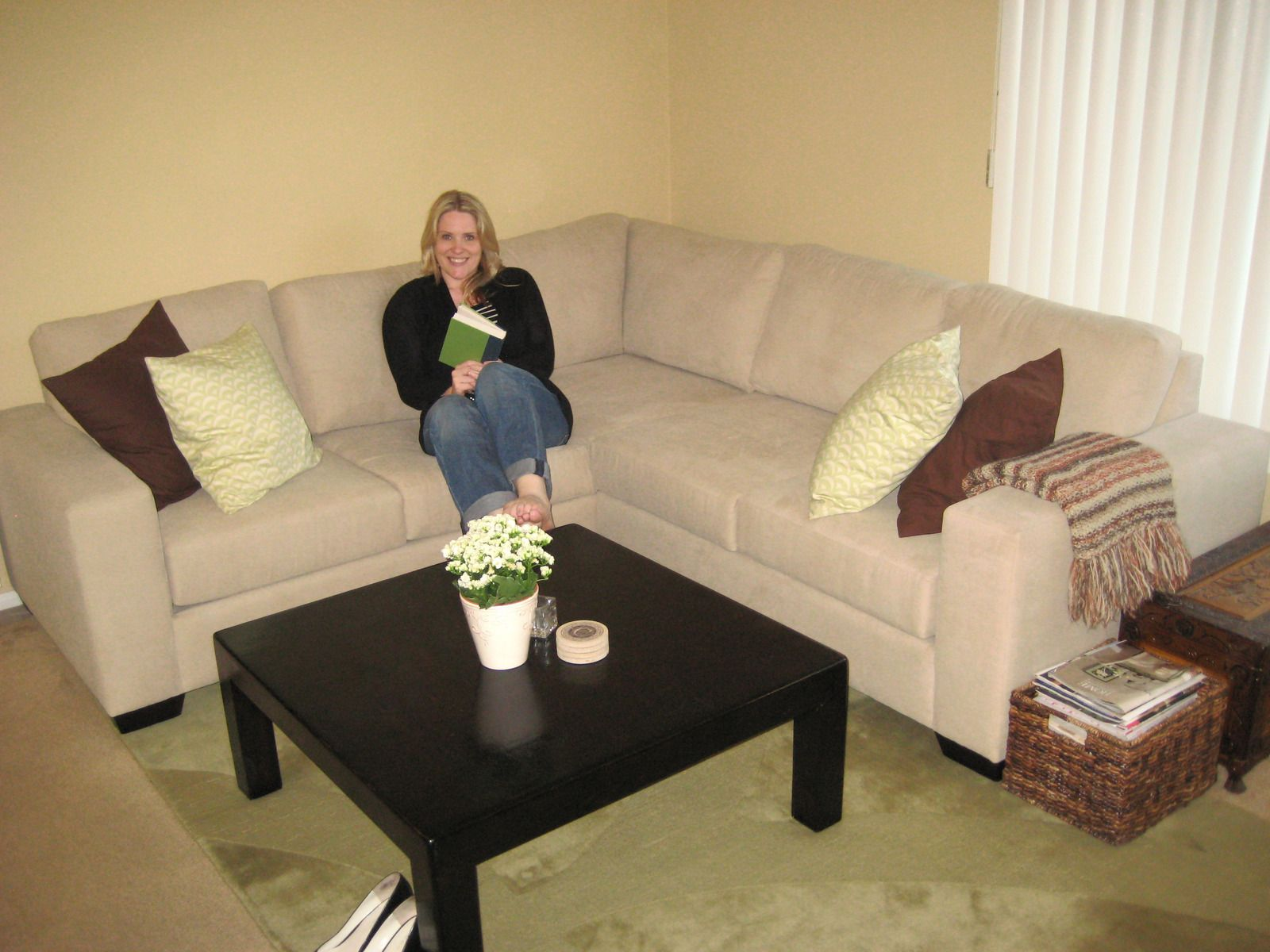 Small Corner Beige Sofa Sectional. Custom Design Your Own Beige Furniture  At The Sofa Company