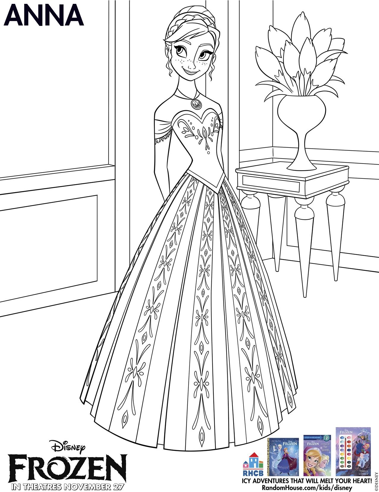 disney frozen free printables coloring pages and activity sheets disney - Kids Activity Sheet