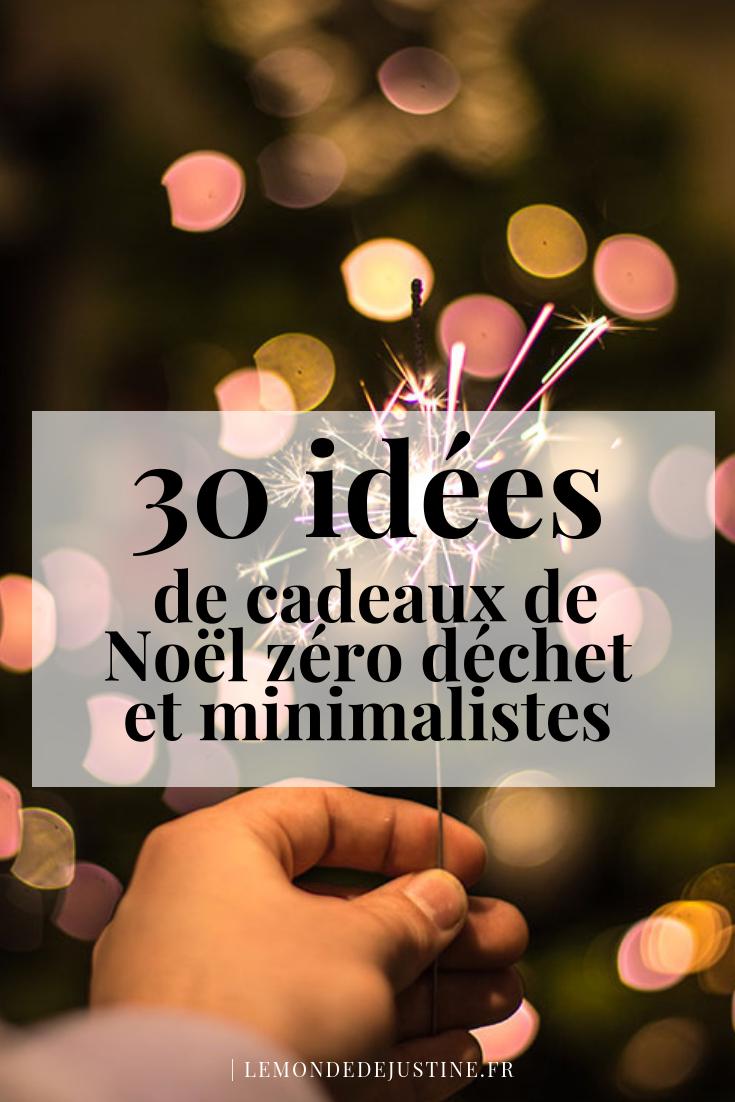Photo of 30 idées de cadeaux de Noël zéro déchet et minimalistes