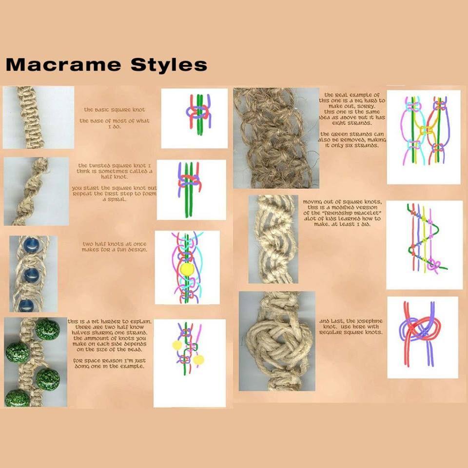 Macrame Styles