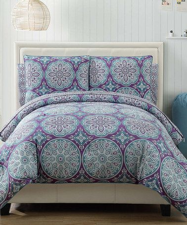 Look What I Found On Zulily Purple Geometric Reversible Veronica