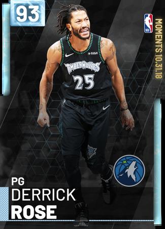 Derrick Rose - NBA 2K19 Custom Card - 2KMTCentral   NBA 2K