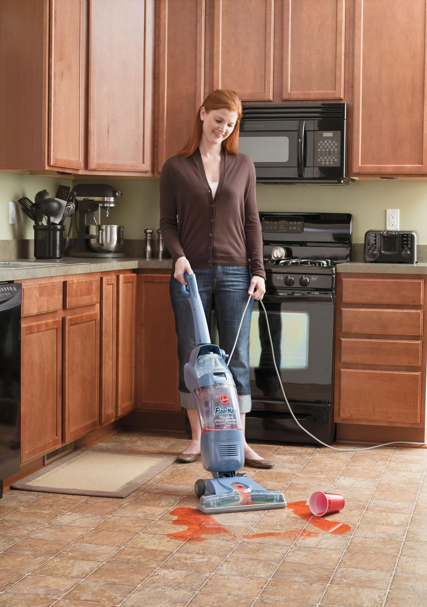 Hoover Hardwood Floor Cleaner Floormate Spinscrub With Bonus Hard Floor Wipes Corded Bare Floor Cleaner Fh40010b Floor Cleaner Wet Dry Vacuum Hoover Floormate