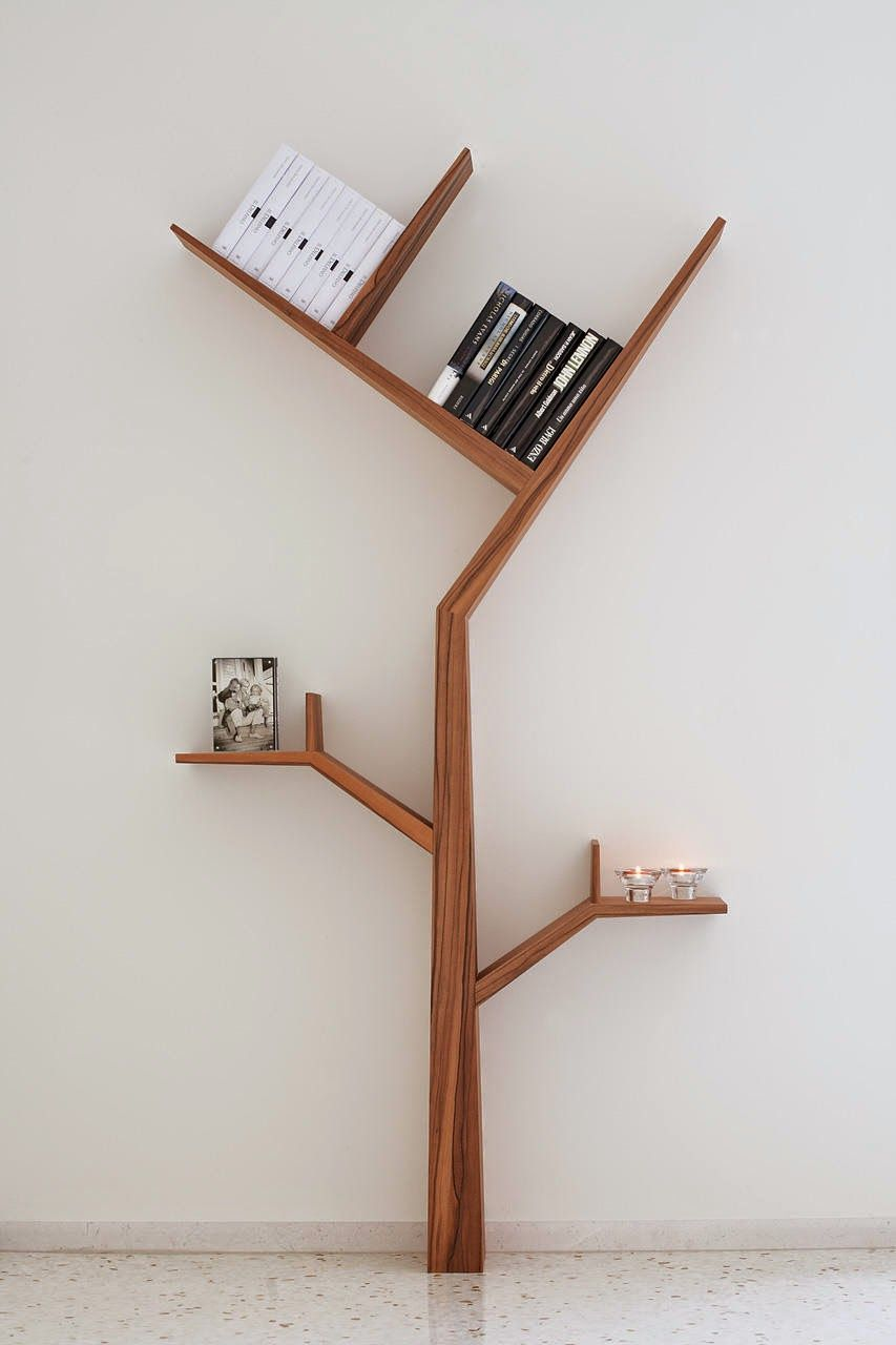 Latest Trend Designs Creative Tree Shape Book Shelf Innovative