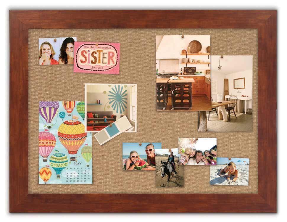 "Fabric Bulletin Boards 42"""" x 32"""""