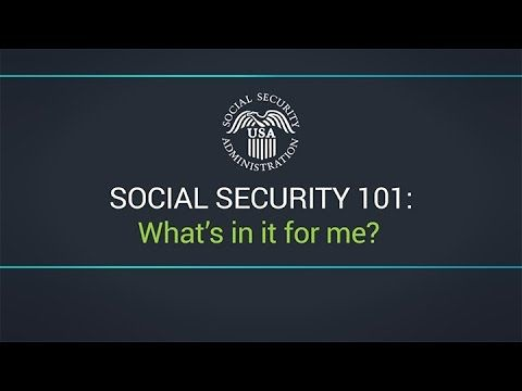 Social Security  WhatS In It For Me  Youtube  Social