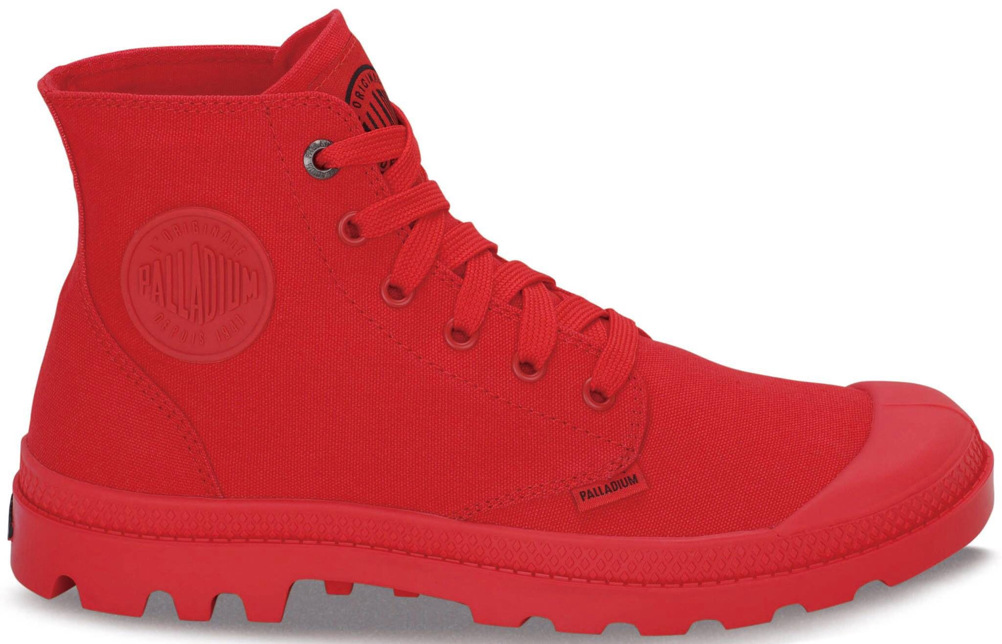 Palladium in all-over red