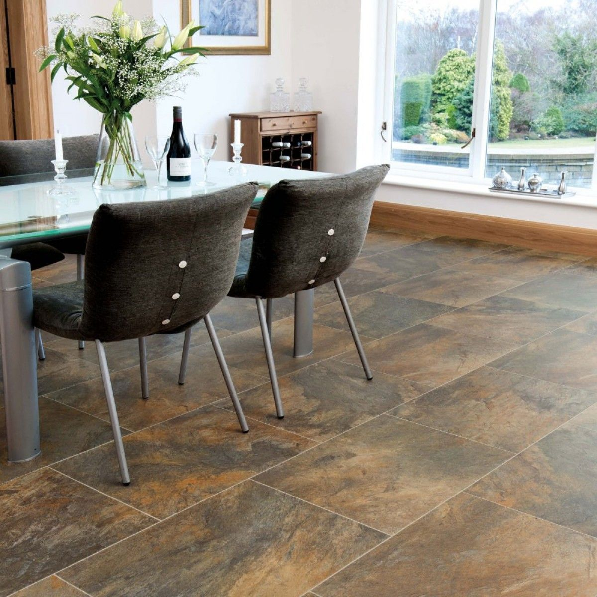 Karndean Vinyl Flooring Art Select Slate Oakeley LM11