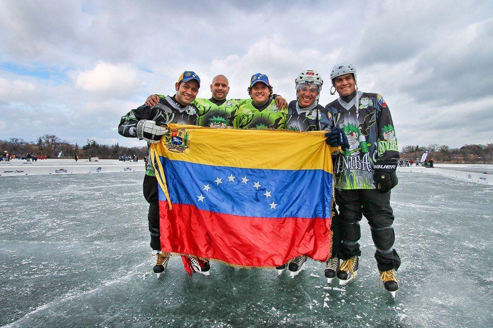 Cannibals of Venezuela at the U.S. Pond Hockey