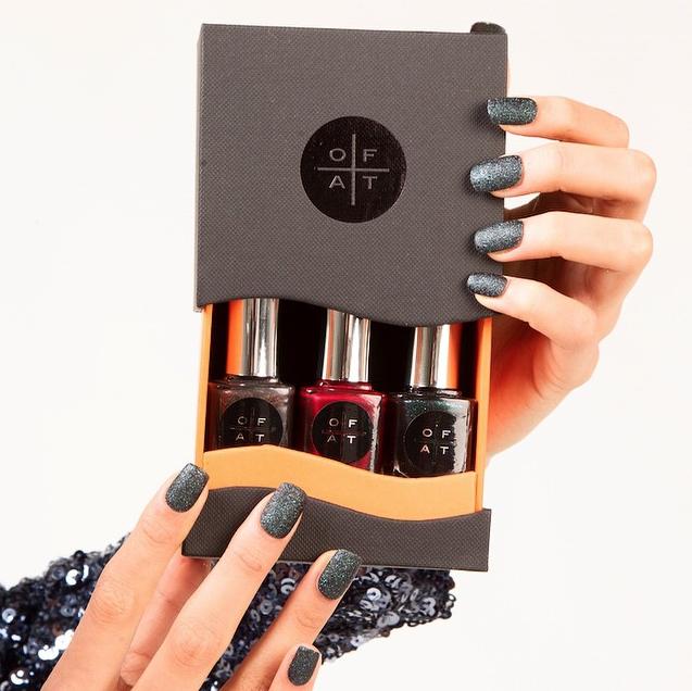 The Christmas Trilogy. Sparkling Nail Polish. Luxury nail polish and ...