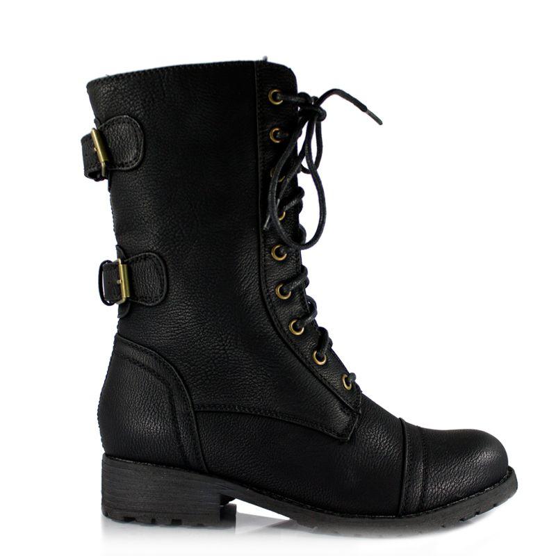 Girl Combat Boots Cheap - Yu Boots