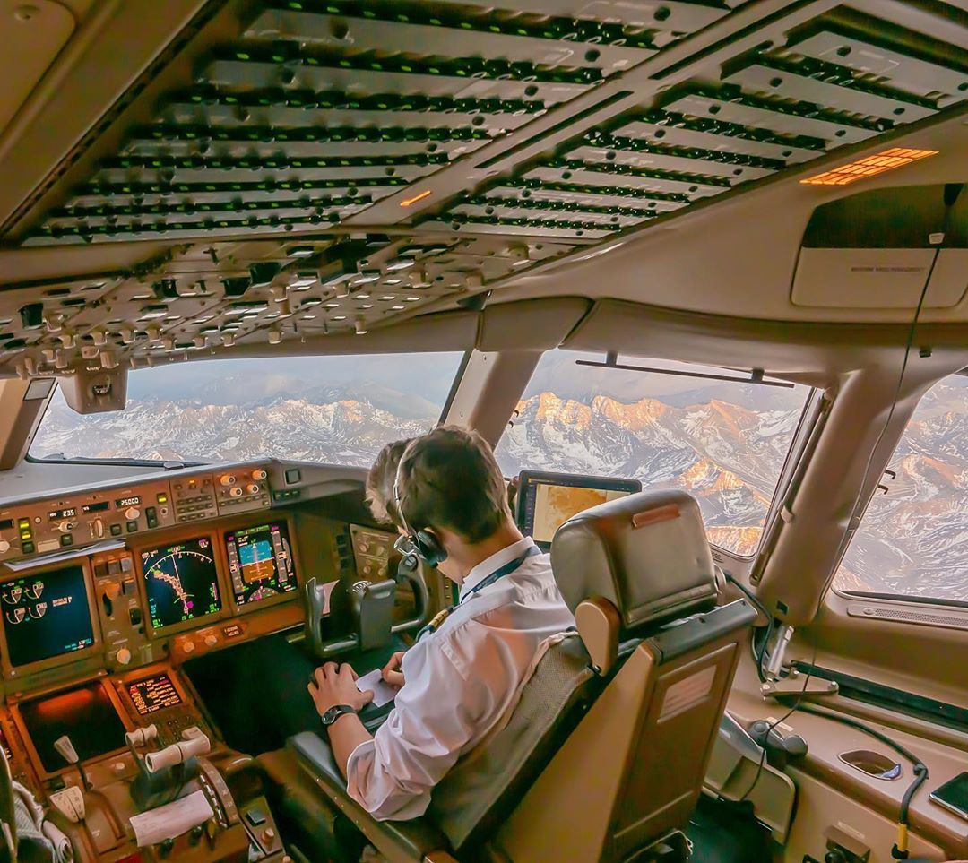 The Andes Question The First Officer is listening to the