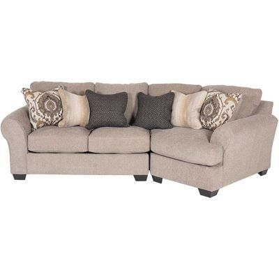Best Pantomine 2 Piece Sectional With Laf Cuddler Cuddler 400 x 300