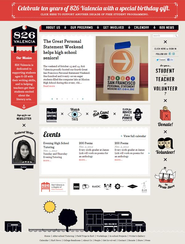 826 Valencia The Writing Center Online Web Design Web Design Web Design Quotes