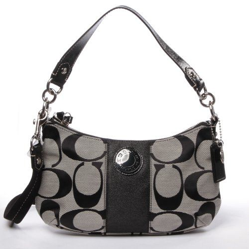 Coach Signature Stripe Demi Crossbody Handbag Better Product Adds For Any Home
