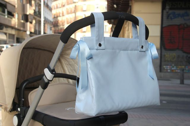 DIY Cómo hacer bolso panera para el carrito del bebe