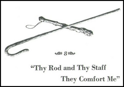 Boaz~The Ministry Pages: Thy Rod & Thy Staff   Rod and staff, Gods guidance,  Rod