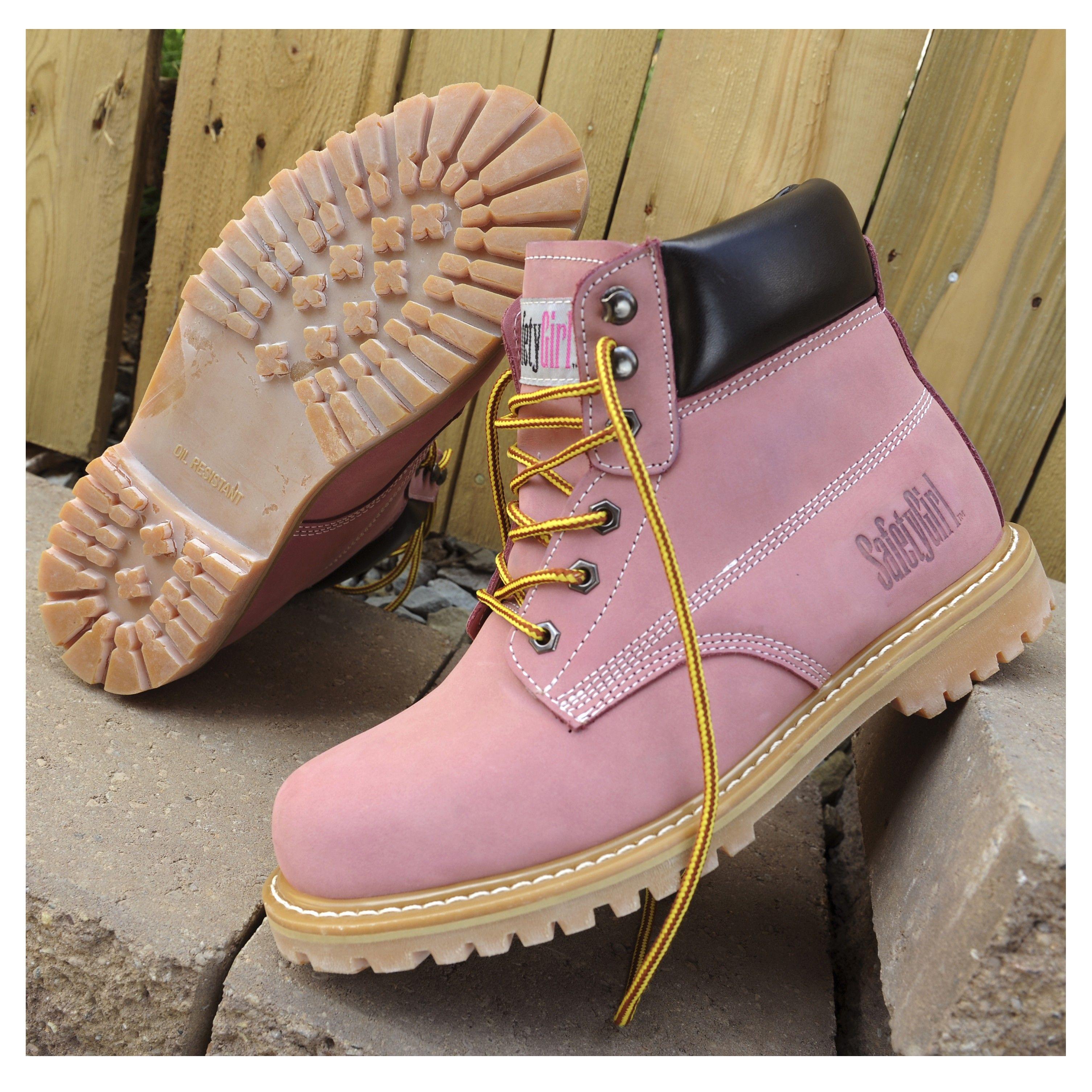 SafetyGirl Steel Toe Waterproof Womens