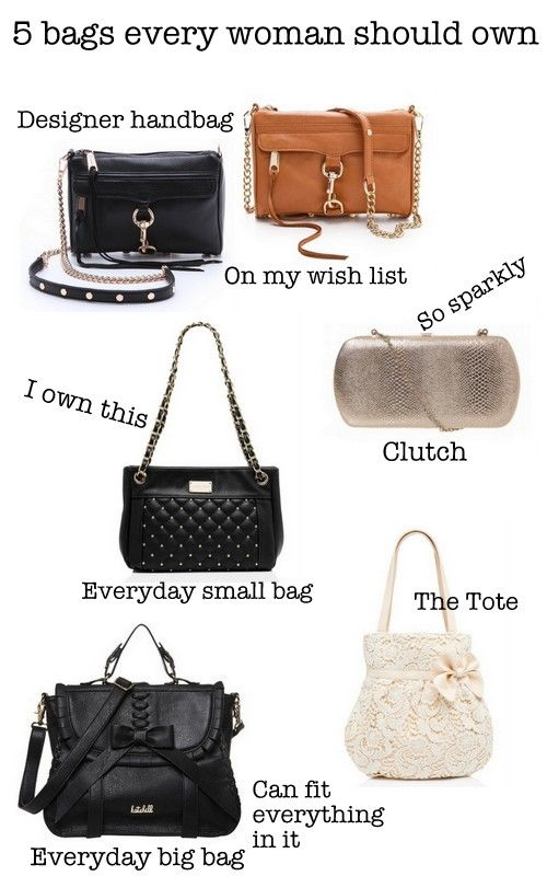 577c4dd32ebb 5 bags every woman should own: everyday big bag, everyday small part, tote,  designer bag, clutch