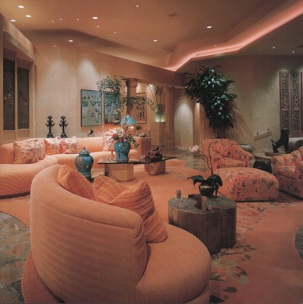 From showcase of interior design pacific edition 1992 for The design home