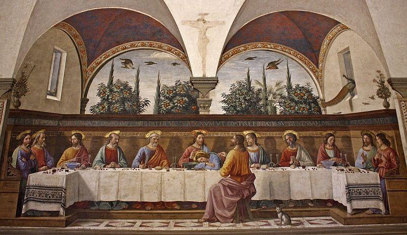 Resultado de imagen de convento de san marco firenze fra angelico cenacolo