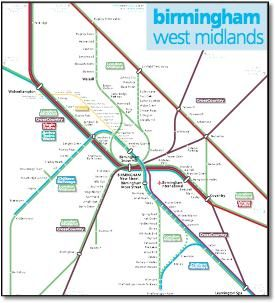 image result for birmingham and west midlands rail map