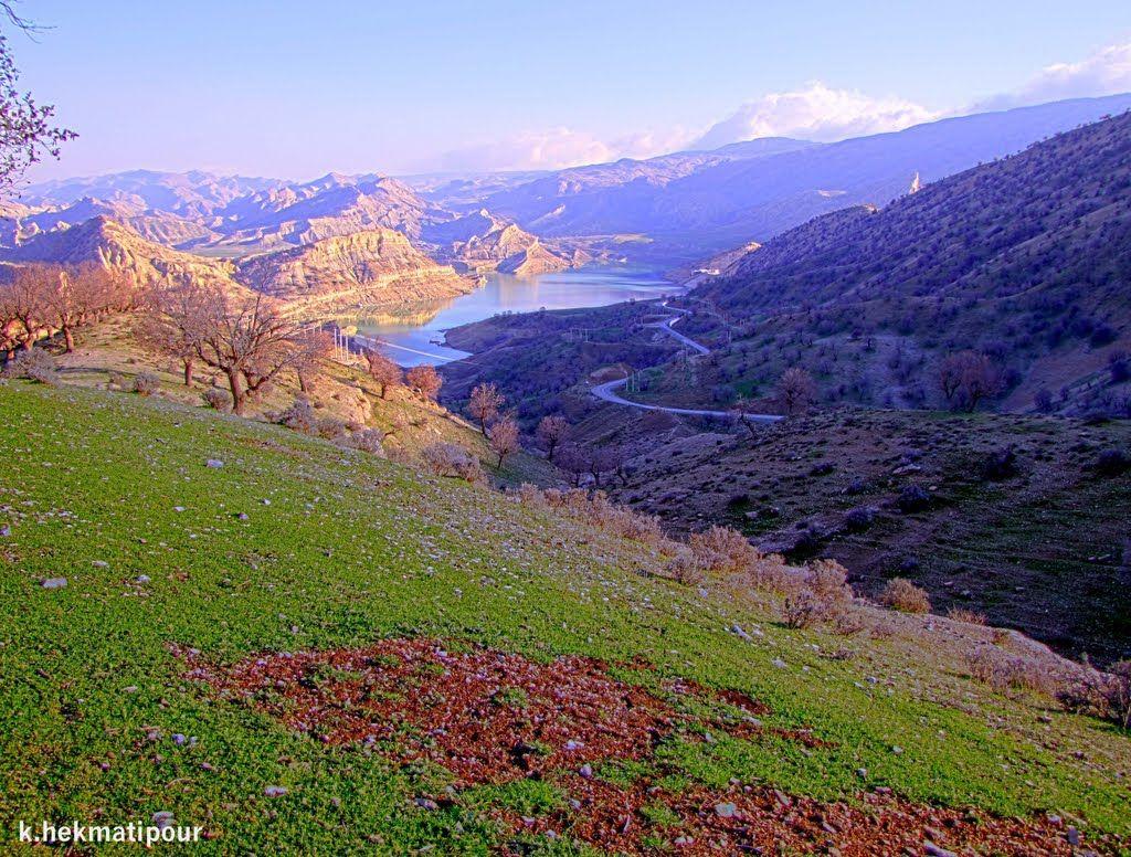 A View Of Ilam Dam Lake Ilam Province Iran In Persian دریاچه سد ایلام Photo Kamran Hekmati C Panoramio Scenery Beautiful Places Landscape