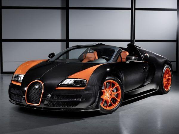 Bugatti Veyron 16 4 Grand Sport Vitesse World Record Car Unveiled